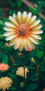 Sunflower Solar Lights