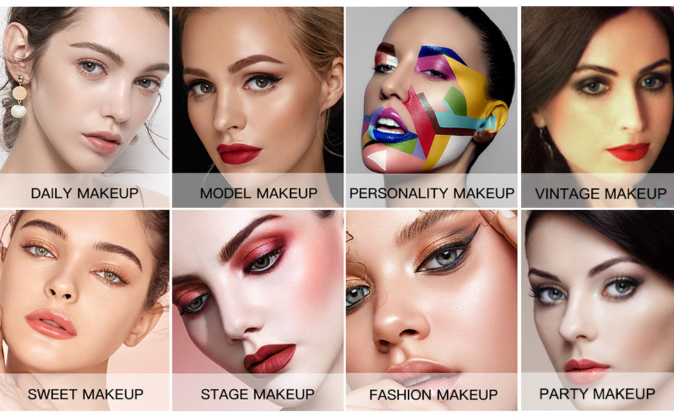 Multifunctional Makeup Kit