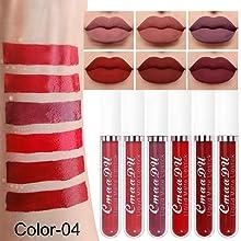 6Pcs Matte liquid lipstick Set