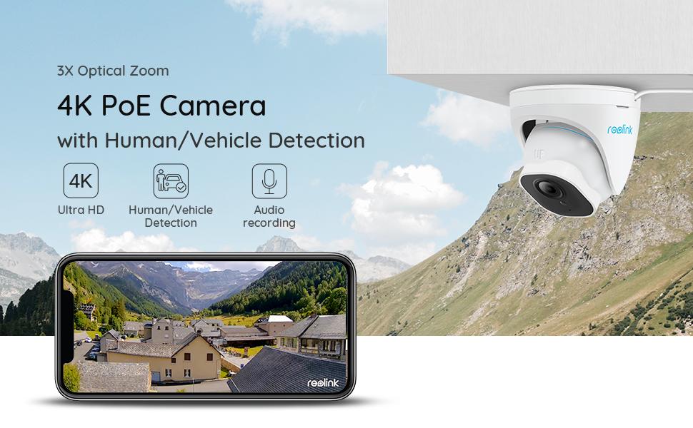 822A 4K POE Camera