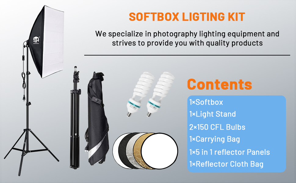 photography lighting light box photography softbox kit photography lights soft box lights set