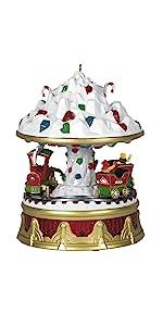 Christmas Carnival Rock Candy Express Musical Keepsake Ornament