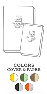 all wether soft cover notebooks