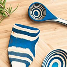 kitchen premium hardwood infused chemical-free 100% natural food grade  scratch-proof safe utensil