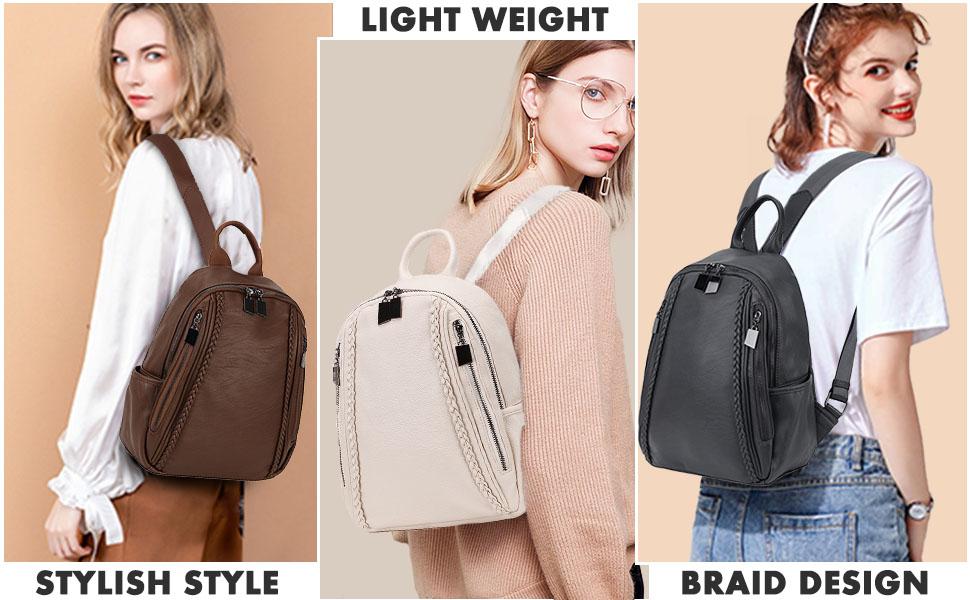 Large capacity fashion backpack