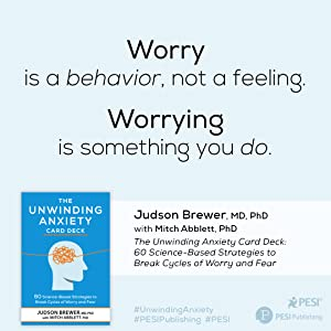 Quote from Unwinding Anxiety Deck