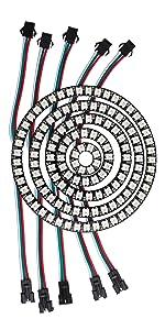 128 RGB LED Ring