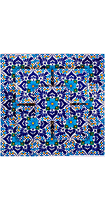 Talavera Tiles Blue and Turquoise