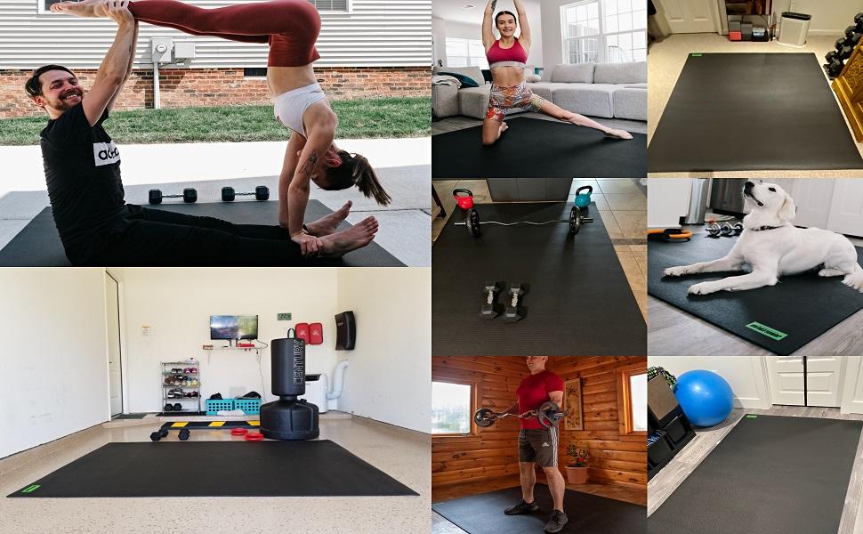 exercise mat workout mat gym mat fitness mat cardio mat