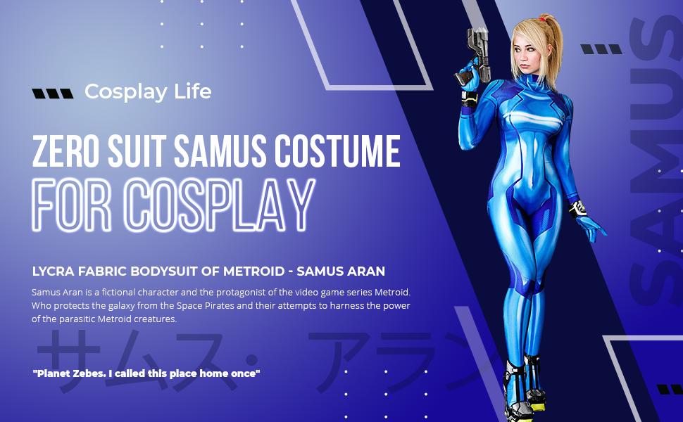 Zero suit samus cosplay life A+ content
