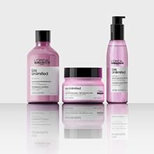 LOreal Professionnel Serie Expert Liss Unlimited for smooth frizz free hair