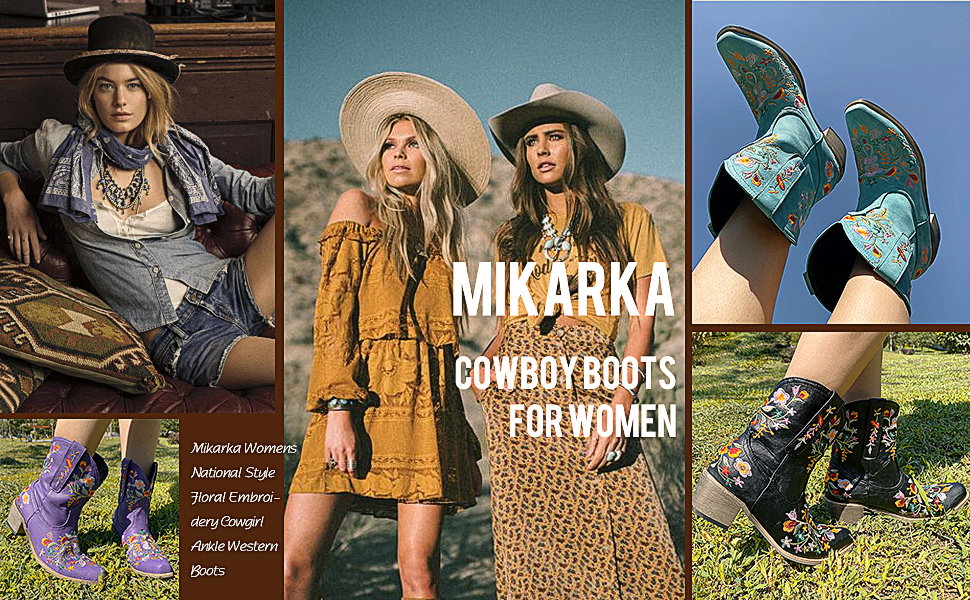 COWGIRL BOOTS WOMEN