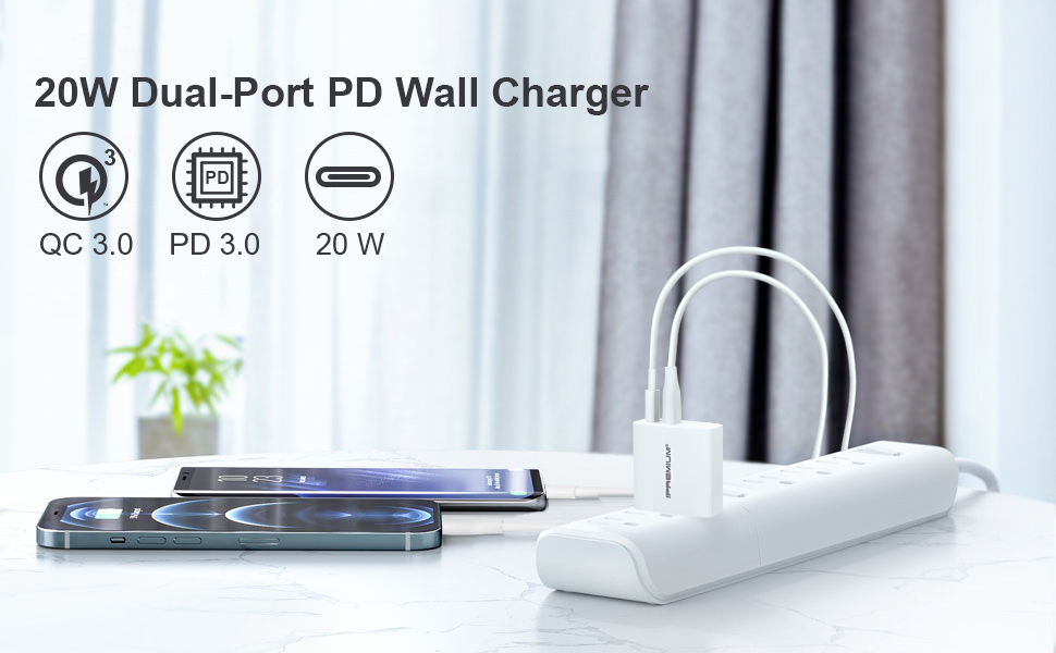 usb c wall charger block