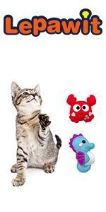 Cat 2pcs Plush Catnip