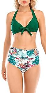 costumi da mare due pezzi bikini perizoma bandeau reggiseno imbottito push up