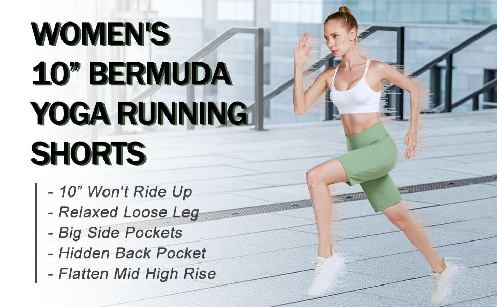 Women bermuda long shorts