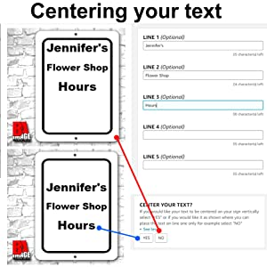 Centering your text
