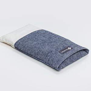 halfmoon linen eye pillow