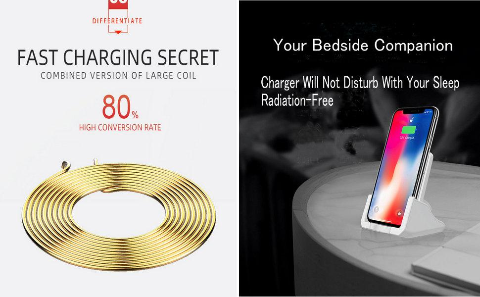 fast charging secret combined version of large coil 80 high conversion rate