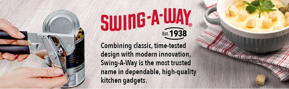 swing a way singaway comfort grip jar opener can opener
