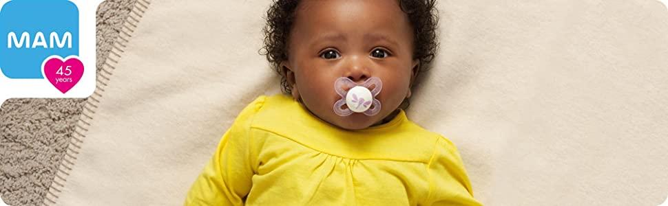 MAM pacifier baby bottles newborn newborn bottles baby feeding breastmilk storage bottles