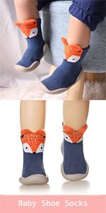Girls Knee High Socks Funny Cartoon Long Tall Boot Cotton Kids Warm Stockings Novelty Childs Animal