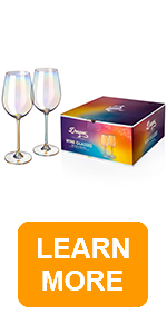 dragon glassware iridescent stemmed wine glasses