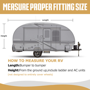 how to measure your rv