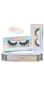 eyelashes package box