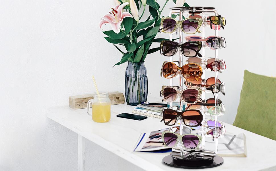 rotating eyeglass display