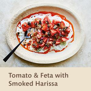 Tomato & Feta with Smoked Harissa