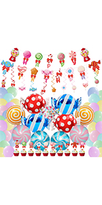 candy party decoration