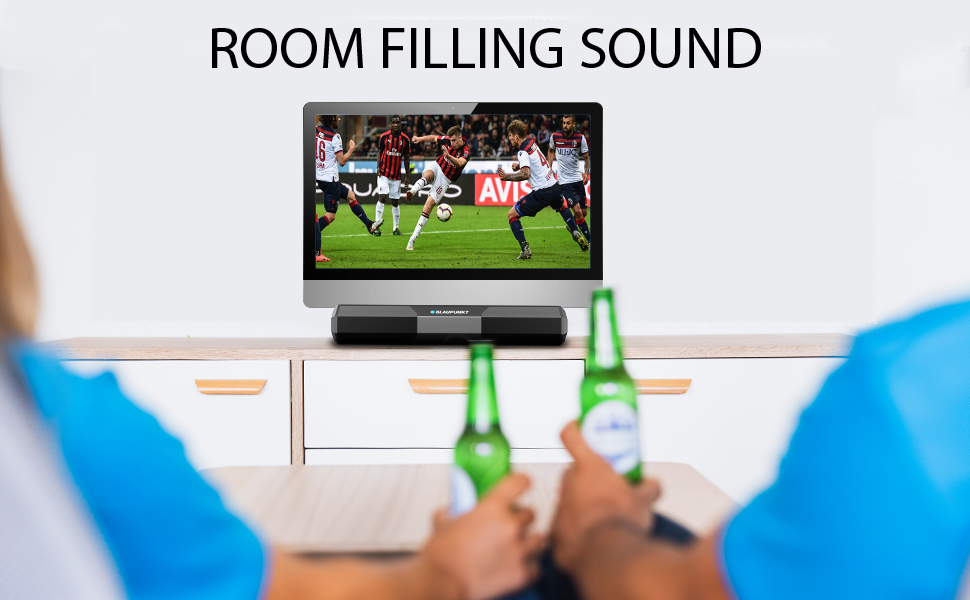 room filling sound