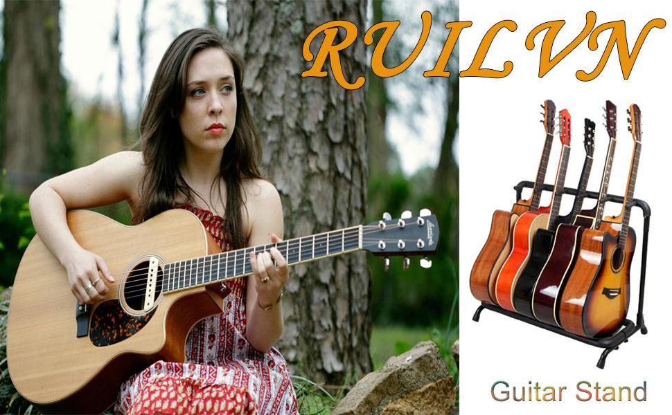 Multi-Guitar Guitar Stand