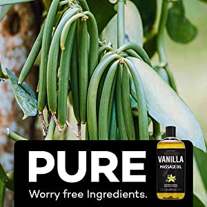 quality without compromise pure and natural massage oil
