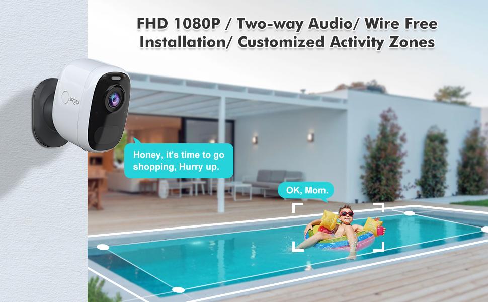 2-Way Audio 1080FHD