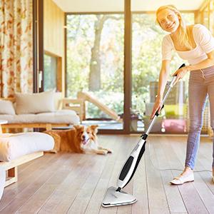 Steam mop for laminate