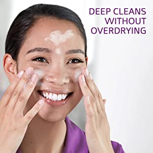 Deep cleans without overdrying