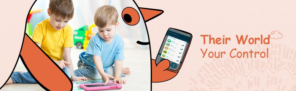 kids tablet with parental control