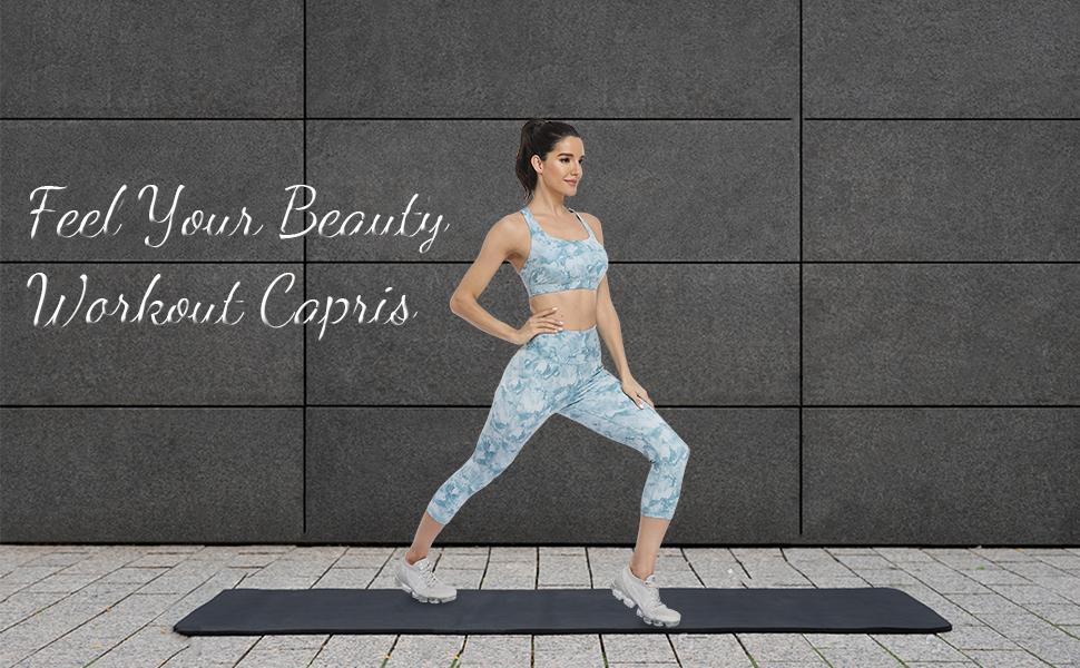 Feel Your Beauty Workout Capris