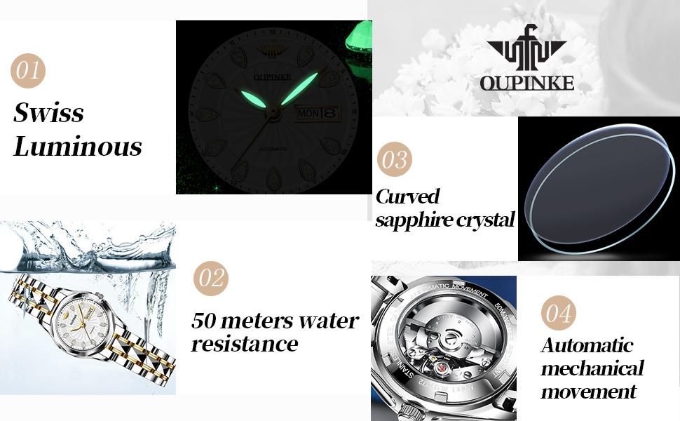 OUPINKE high-quality women's watch