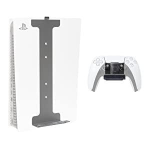 HIDEit Mounts PlayStation 5 Pro Bundle Mounts - Mount for PS5 and Controller