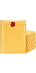 Famagic kraft bubble mailers 8.5x12