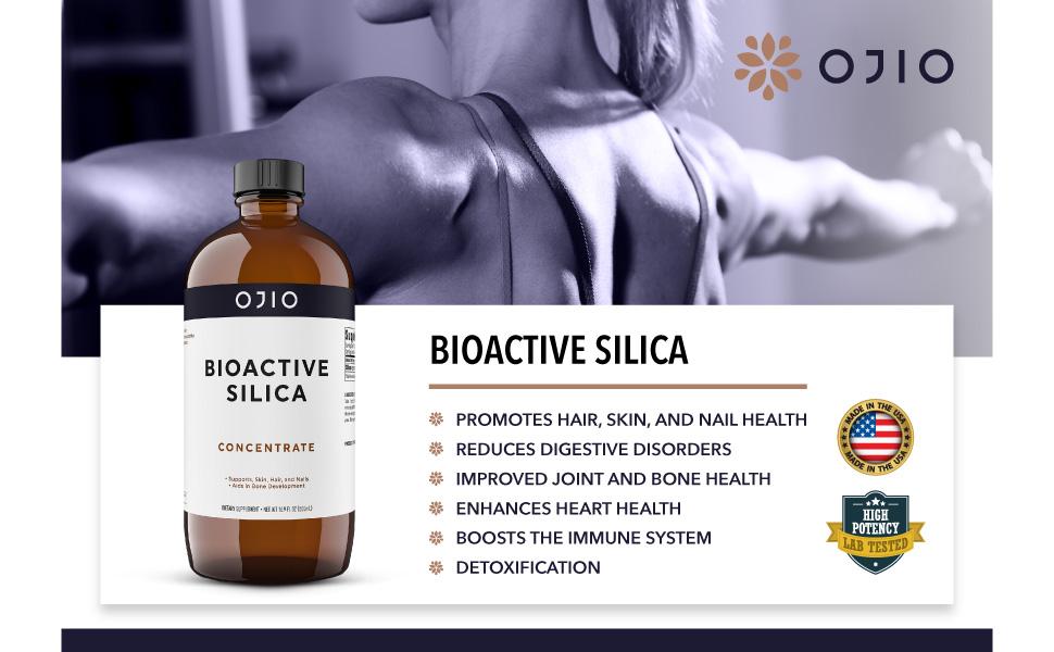 Ojio Bioactive Silica Vegan Collagen Booster