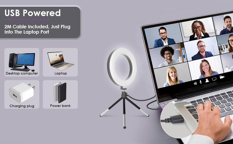 ring light for laptop