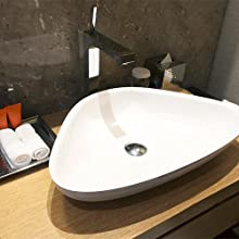 Bathroom Sink Drain with Overflow for Vessel Sink Lavatory Vanity Easy to Install