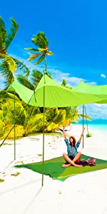 beach cover with sand bags inflatable tent sale shade canopy sandbags enclosure high wind
