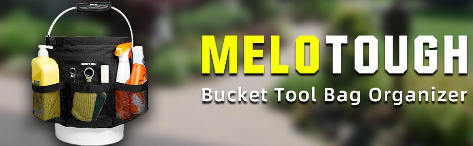 Bucket Idea Bucket Tool Organizer for Garden Tools Fit 3.5 to 5 Gallon Bucket