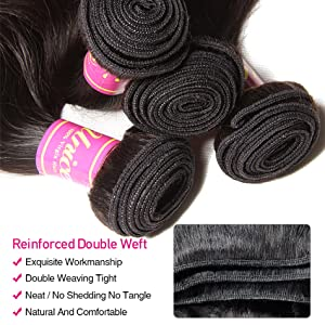 body wave bundle with closure