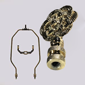 Antiqued Brass